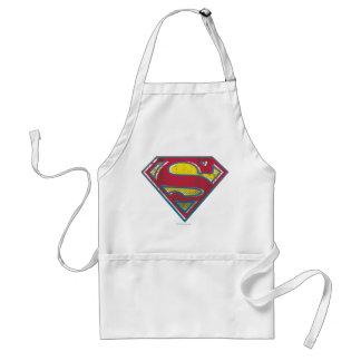 スーパーマンのS盾の|印刷されたロゴ スタンダードエプロン
