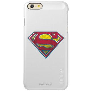 スーパーマンのS盾の 印刷されたロゴ INCIPIO FEATHER SHINE iPhone 6 PLUSケース