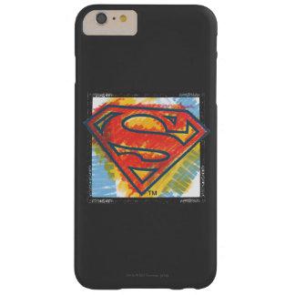スーパーマンのS盾の 着色されたロゴ BARELY THERE iPhone 6 PLUS ケース