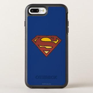 スーパーマンのS盾の|衰退した点のロゴ オッターボックスシンメトリーiPhone 8 PLUS/7 PLUSケース