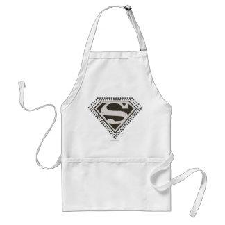 スーパーマンのS盾|それはShowtimeです! ロゴ スタンダードエプロン