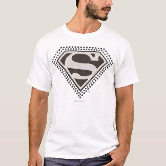 スーパーマンのS盾|それはShowtimeです! ロゴ Tシャツ