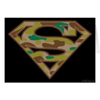 スーパーマンのS盾|のカムフラージュのロゴ カード
