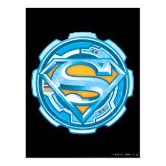 スーパーマンのS盾|のギアのロゴ ポストカード
