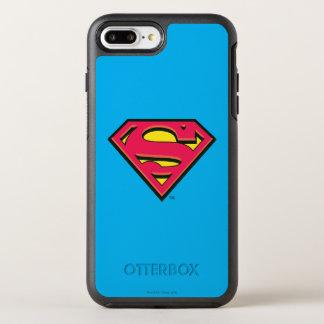 スーパーマンのS盾|のクラシックなロゴ3 オッターボックスシンメトリーiPhone 8 PLUS/7 PLUSケース