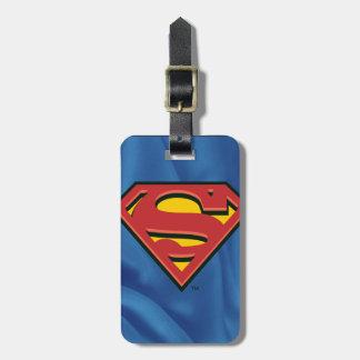 スーパーマンのS盾|のクラシックなロゴ ラゲッジタグ