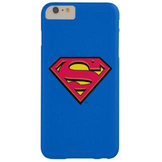 スーパーマンのS盾 のクラシックなロゴ BARELY THERE iPhone 6 PLUS ケース