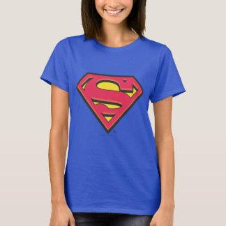 スーパーマンのS盾|のクラシックなロゴ Tシャツ