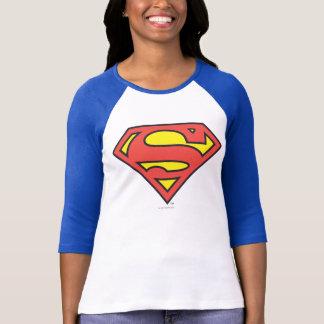 スーパーマンのS盾|のスーパーマンのロゴ Tシャツ