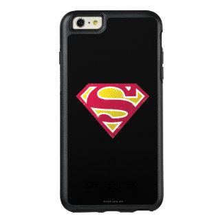 スーパーマンのS盾|の動揺してな点のロゴ オッターボックスiPhone 6/6S PLUSケース