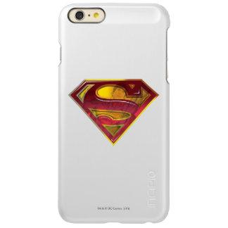 スーパーマンのS盾 の反射のロゴ
