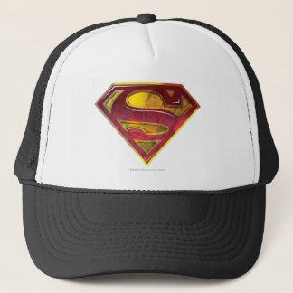 スーパーマンのS盾|の反射のロゴ キャップ