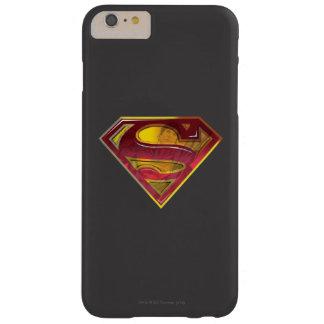 スーパーマンのS盾 の反射のロゴ BARELY THERE iPhone 6 PLUS ケース