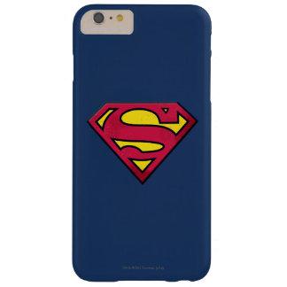 スーパーマンのS盾 の土のロゴ BARELY THERE iPhone 6 PLUS ケース