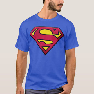 スーパーマンのS盾|の土のロゴ Tシャツ
