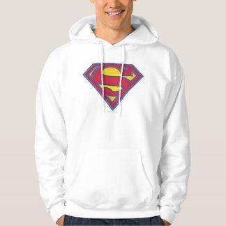 スーパーマンのS盾|の点のロゴ パーカ