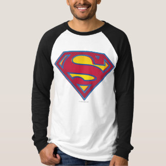 スーパーマンのS盾|の点のロゴ Tシャツ