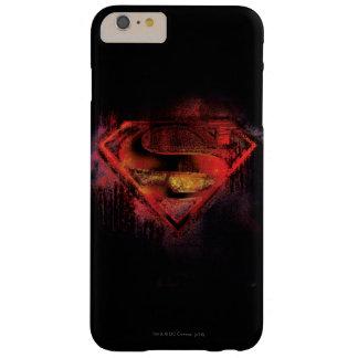 スーパーマンのS盾|の色彩の鮮やかなロゴ スリム iPhone 6 PLUS ケース