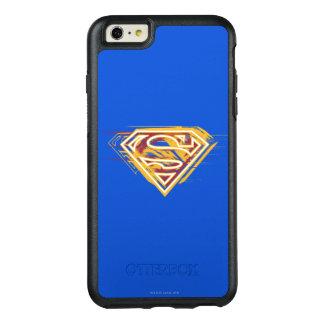 スーパーマンのS盾|の黄色および赤いロゴ オッターボックスiPhone 6/6S PLUSケース