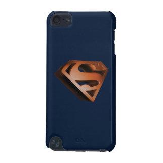 スーパーマンのS盾 の3D粒状のロゴ iPod TOUCH 5G ケース