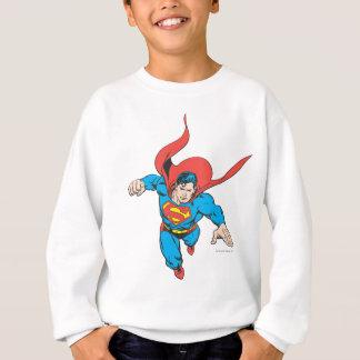 スーパーマンは先に跳躍します スウェットシャツ