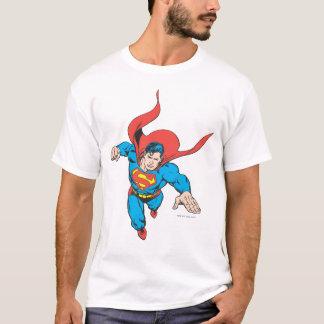 スーパーマンは先に跳躍します Tシャツ