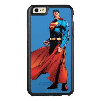 スーパーマンは前部に見ます オッターボックスiPhone 6/6S PLUSケース