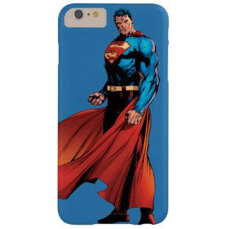 スーパーマンは前部に見ます iPhone 6 PLUS ベアリーゼアケース