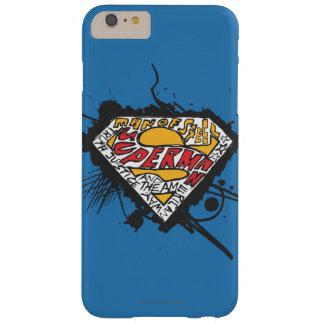 スーパーマンは手紙のロゴの|のロゴを様式化しました BARELY THERE iPhone 6 PLUS ケース