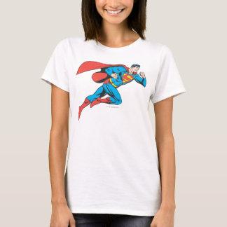 スーパーマンは正しく跳躍します Tシャツ