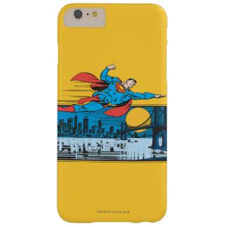 スーパーマンは町を渡って飛びます BARELY THERE iPhone 6 PLUS ケース