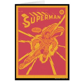 スーパーマンは緩和によって打たれます カード