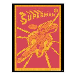 スーパーマンは緩和によって打たれます ポストカード