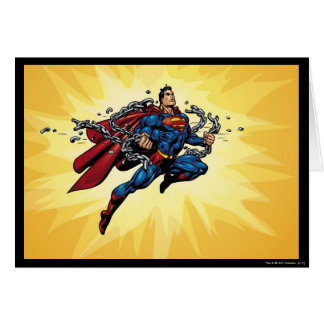 スーパーマンは鎖を壊します カード