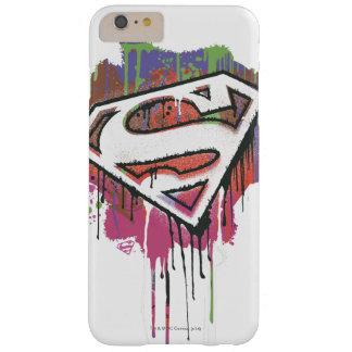 スーパーマンは|ねじられた潔白のロゴを様式化しました スリム iPhone 6 PLUS ケース