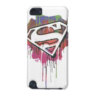 スーパーマンは|ねじられた潔白のロゴを様式化しました iPod TOUCH 5G ケース