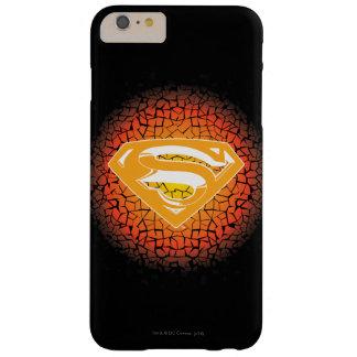 スーパーマンは のパチパチ鳴る音のロゴを様式化しました BARELY THERE iPhone 6 PLUS ケース