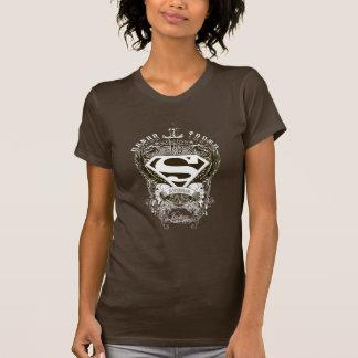スーパーマンは|の名誉、真実および正義のロゴを様式化しました Tシャツ