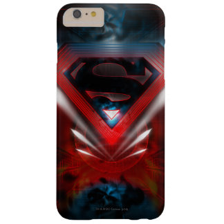 スーパーマンは|の未来派のロゴを様式化しました スキニー iPhone 6 PLUS ケース