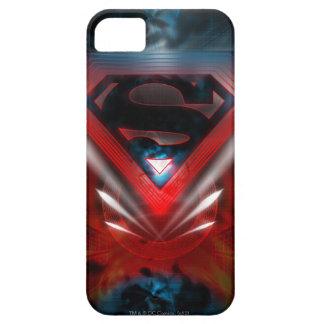 スーパーマンは|の未来派のロゴを様式化しました iPhone SE/5/5s ケース