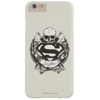 スーパーマンは の正義のロゴを様式化しました BARELY THERE iPhone 6 PLUS ケース