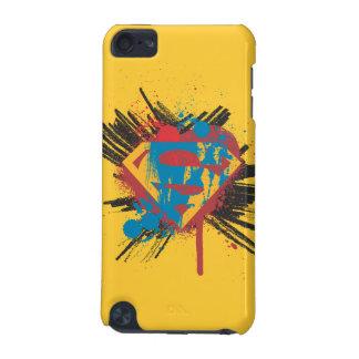スーパーマンは の(ばちゃばちゃ)跳ねるのロゴを様式化しました iPod TOUCH 5G ケース