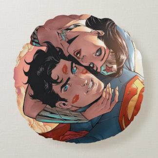 スーパーマンまたはワンダーウーマン喜劇的なカバー#11変形 ラウンドクッション