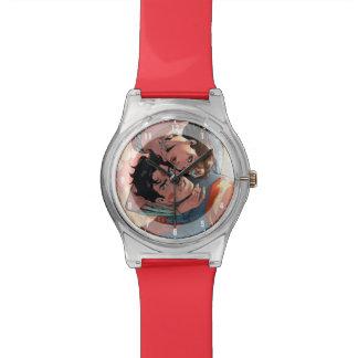 スーパーマンまたはワンダーウーマン喜劇的なカバー#11変形 腕時計