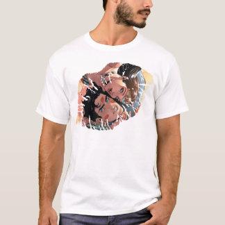 スーパーマンまたはワンダーウーマン喜劇的なカバー#11変形 Tシャツ