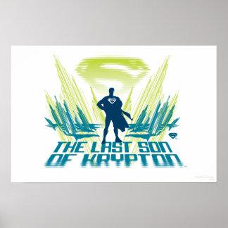 スーパーマンクリプトンの最後の息子 ポスター