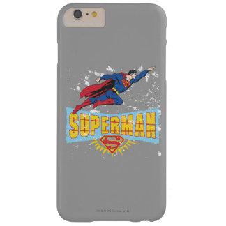 スーパーマンロゴおよび飛行 BARELY THERE iPhone 6 PLUS ケース