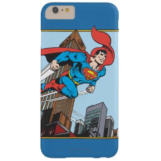 スーパーマン及び超高層ビル スリム iPhone 6 PLUS ケース