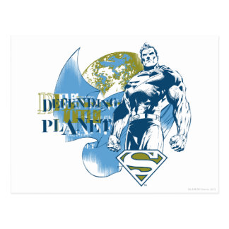 スーパーマン惑星を守る  ポストカード