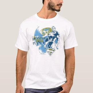 スーパーマン惑星を守る  Tシャツ